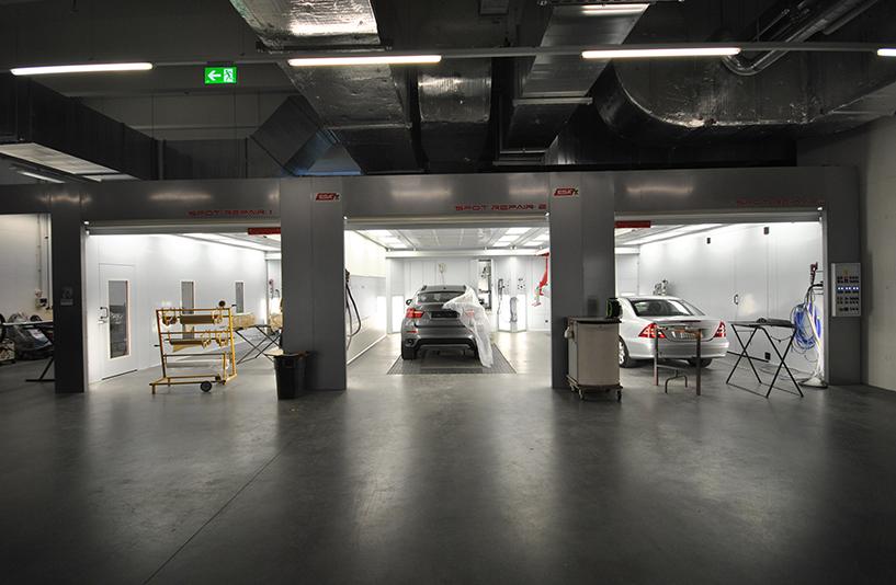 Autohaus Hirsch - Lackierung