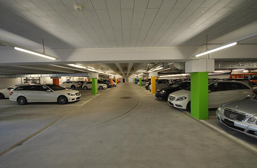Autohaus Hirsch - Tiefgarage