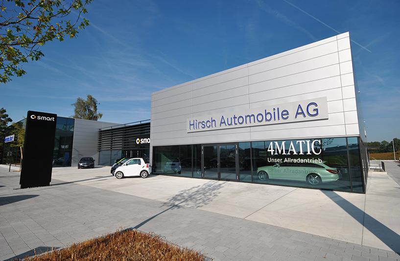 Autohaus Hirsch - Eingangsbereich