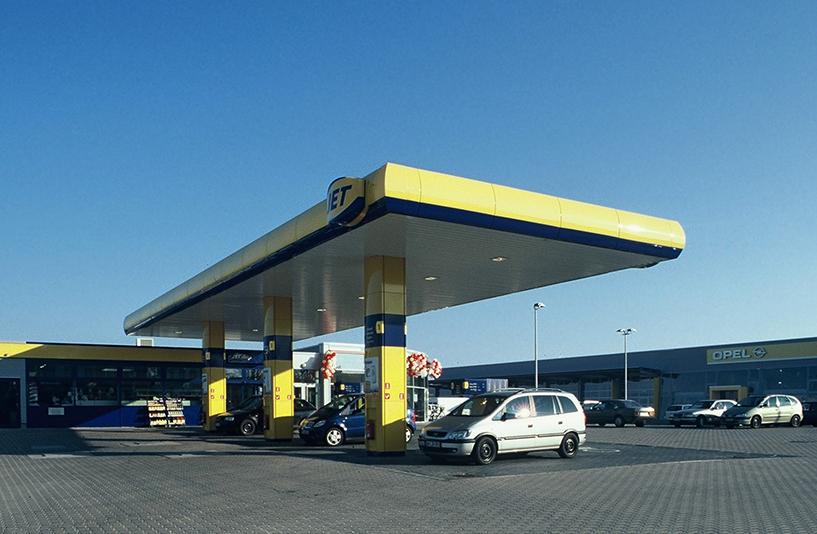 Autopark Syke - Tankstelle Gesamtansicht