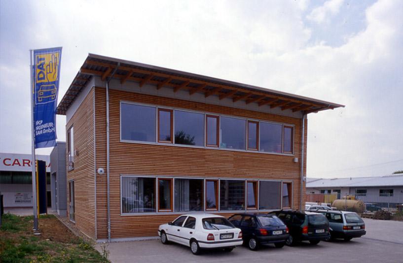 DAT-Pavillon - Außenansicht