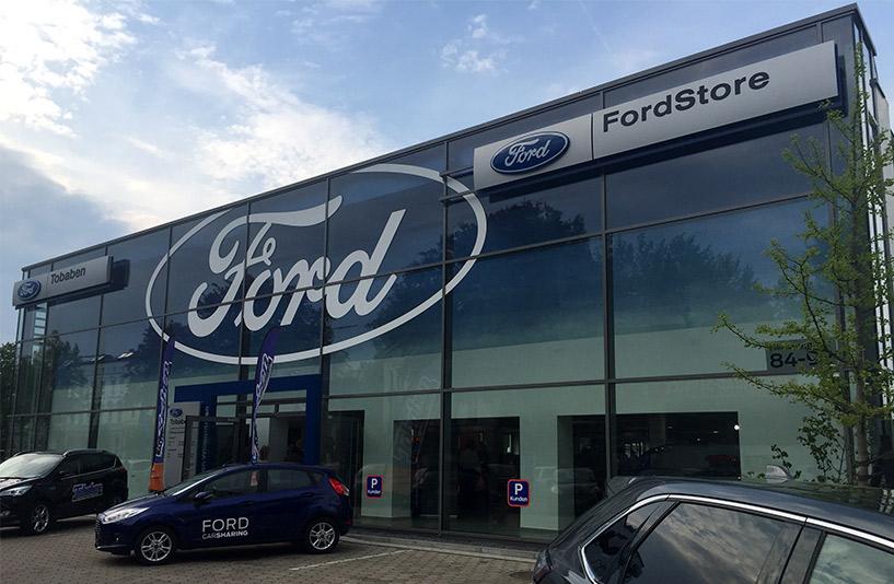 Ford Tobaben - Frontansicht