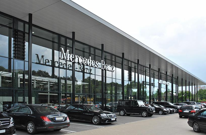 Mercedes Benz Bremen – Außenansicht